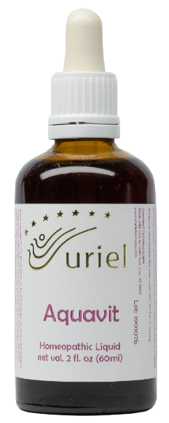 Uriel's Homeopathic Aquavit - relief from dizziness, nausea