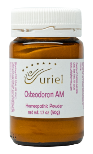 homeopathic Osteodoron for strong teeth, bones