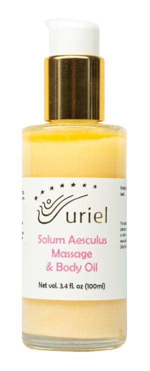 Uriel's Solum Aesculus massage and body oil
